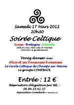Bal celtique de la Saint Patrick samedi 17 mars 2012 à Viarmes (95270)