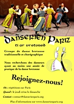 Dañserien Pariz recrute